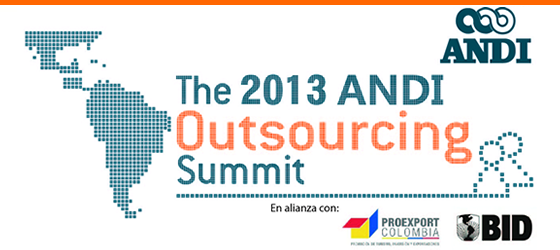 "Zona Franca Santander participará en el evento ""The 2013 ANDI Outsourcing Summit"""